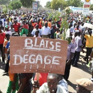 Manifestations au Burkina