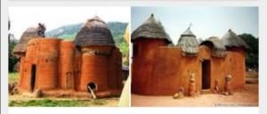 Des vestiges d'une architecture ancestrale du nord du Togo Crédit : Google.com