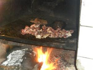 Du Dibi en pleine cuisson Crédit:Gilbert LOWOSSOU